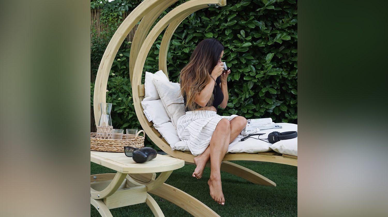 Dein Hängesessel ist die perfekte Oase der Ruhe im Garten