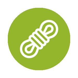 Zu sehen ist das Icon für die Hängesessel Seile – klicke, um die Produkte zu sehen