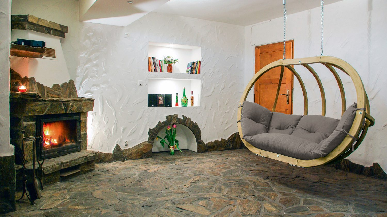 Verleihe deinem Wohnzimmer mit einem Hängesessel einen unverwechselbaren Style