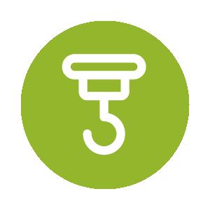 Zu sehen ist das Icon für die Hängesessel Haken – klicke, um mehr zu sehen