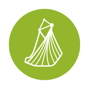 Auf dem Icon ist ein Netz Hängesessel abgebildet – klicke hier