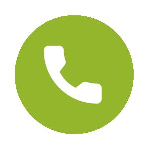 Auf dem Icon ist Telefonhörer zu erkennen, wenn man telefonisch eine Frage zu Hängesesseln stellen möchte