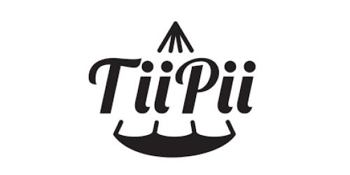 Das ist das Logo des Hängebett Herstellers Tiipii